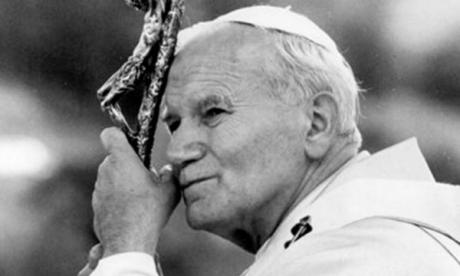 II. János Pál pápa (fotó: mult-kor.hu)