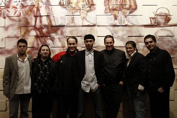 Tim Ries és a zenekar (fotó: hughsroom.com)