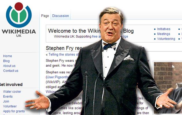 Stephen Fry (Fotó: ces.engadget.com)