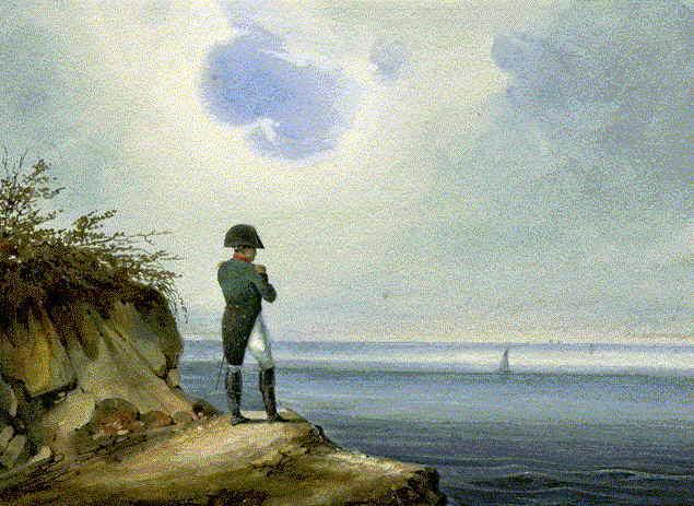 Napóleon Szent Ilona szigetén (Forrás: en.wikipedia.org)