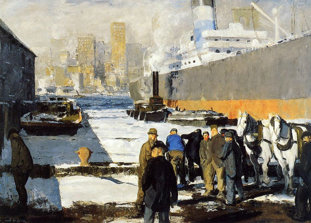 George Bellows: Men of the Docks