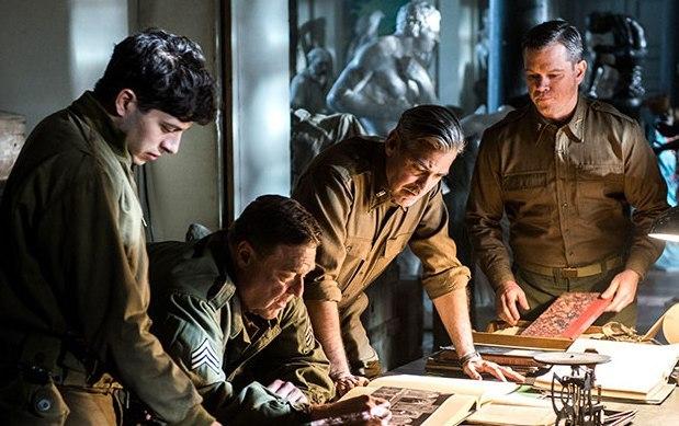 Műkincsvadászok jelenetfotó (Forrás: moviefanatic.com)