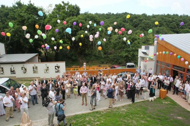 A Snétberger zenei központ átadása (Fotó: Gáspár Gábor/veol.hu)