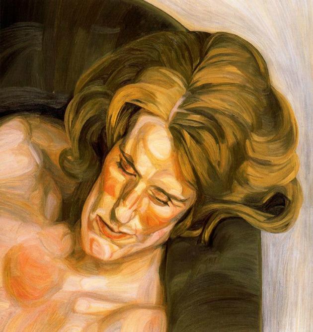 Lucian Freud: Head on a Green Sofa