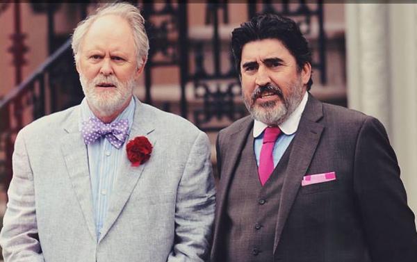 John Lithgow és Alfred Molina (Fotó: ioncinema.com)