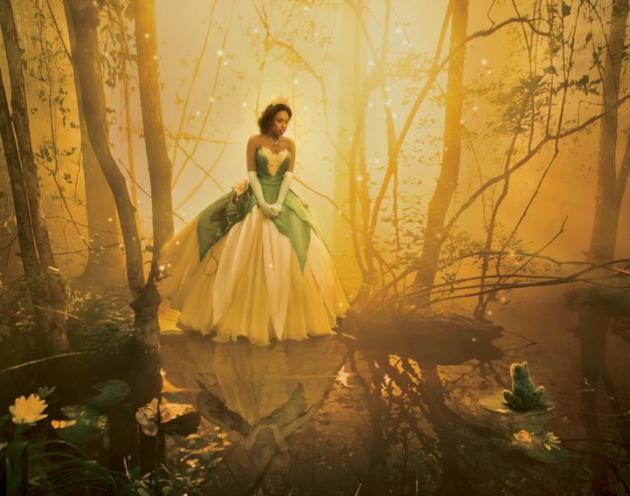 Jennifer Hudson Tianaként A hercegnő és a békából