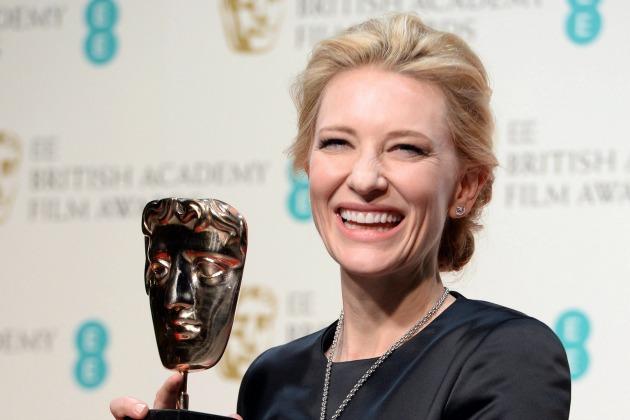 Cate Blanchett - legjobb színésznő, Kék Jázmin (Fotó: MTI/EPA/Andy Rain)