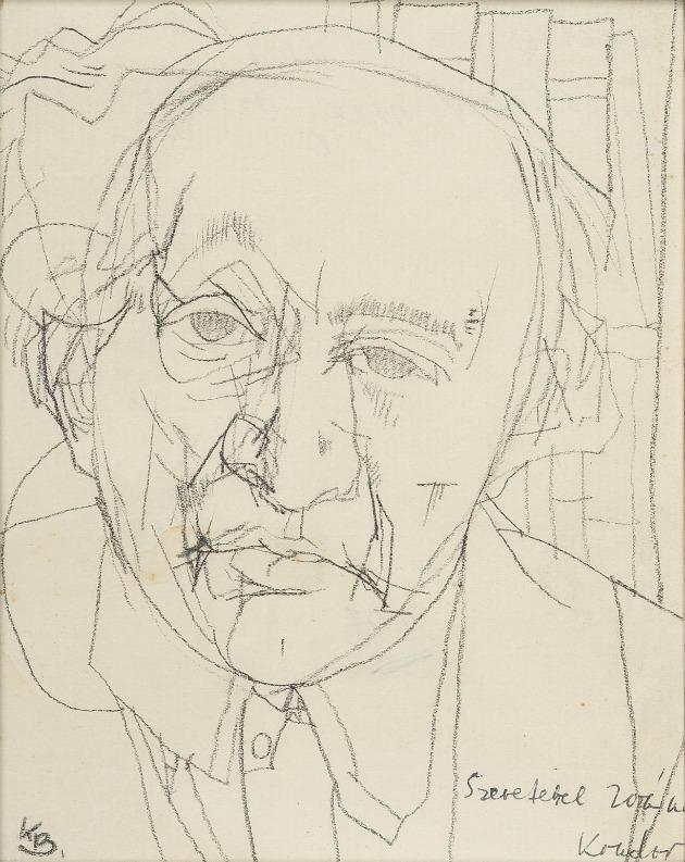 Kondor Béla: Füst Milán portréja