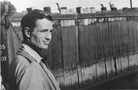 Kerouac Staten Islanden, 1953-ban (Fotó: allenginsberg.org)