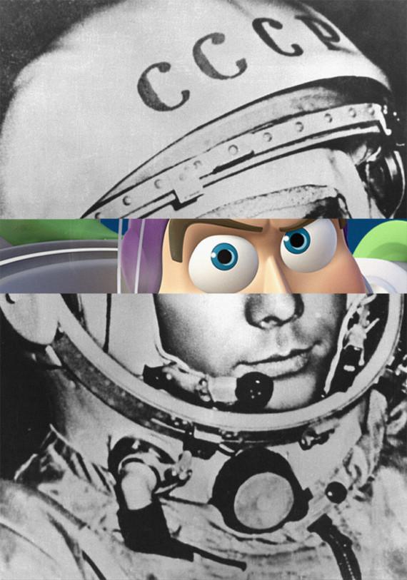 Gagarin - Buzz Lightyear