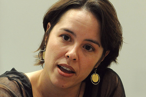 Patricia Riggen, a rendezőnő (Fotó: 33miners.com)