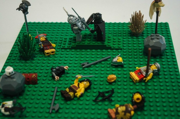 Arthur vs Mordred - Sir Thomas Malory: Arthur király halála (Forrás: waterstones.com)