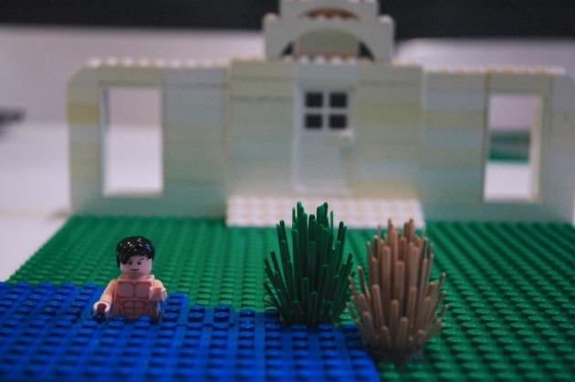 Mr. Darcy a tóban - Jane Austen: Büszkeség és balítélet (Forrás: waterstones.com)