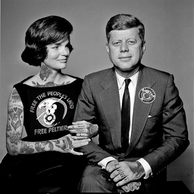 John F. Kennedy és felesége