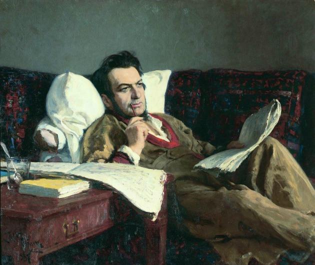 Mikhail Glinka (Ilya Repin portréja)