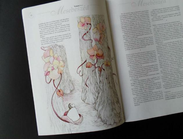 Illusztráció a Nyugat Ma folyóiratban