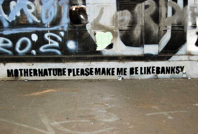 Hadd legyek olyan, mint Banksy!