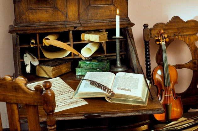 Kiállítási tárgyak a Bach Házban