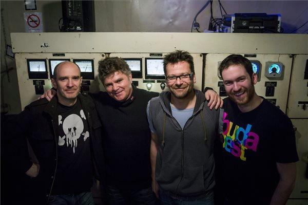 Leskovics Gábor, Ózdi Rezső, Lovasi András és Mihalik Ábel (MTI Fotó: Mohai Balázs)