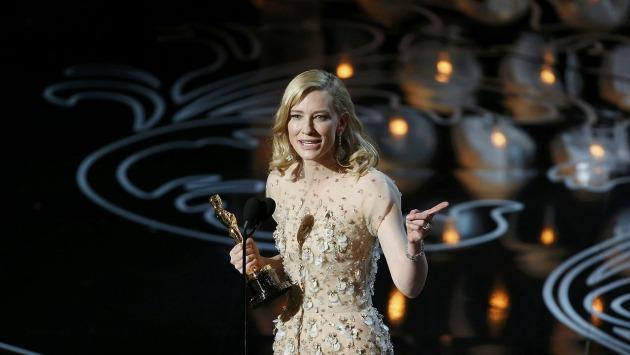 Cate Blanchett beszéde az Oscar-átadón (Fotó: zeebox.com)
