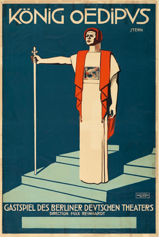 Max Stern: Oidipusz király (1911, Németország)