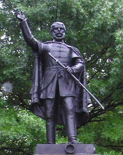 Louis (Lajos) Kossuth clevelandi szobra