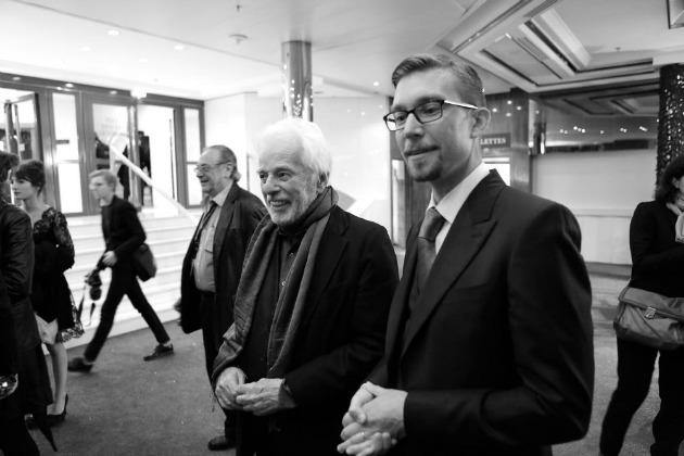 Alejandro Jodorowsky és Frank Pavich rendező (Fotó: David Cavallo/Sony Pictures Classics)