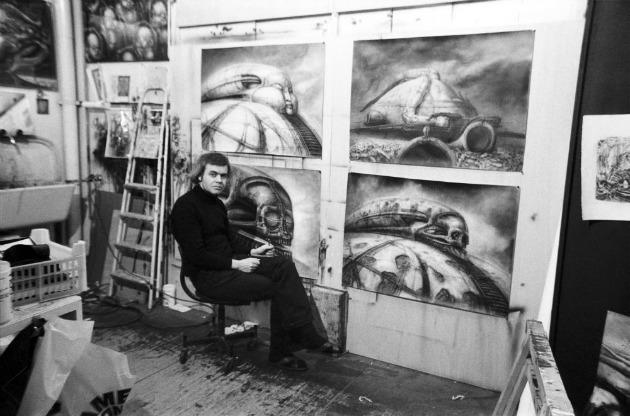 H.R. Giger a '70-es évek elején (Fotó: Sony Pictures Classics)