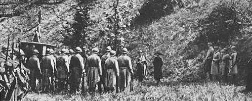 Mata Hari kivégzése (fotó: mata-hari.com)