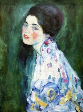 Gustav Klimt: Portrait of a Woman, 1916-17