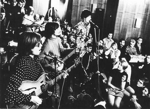 Az Illés zenekar régen (Fotó: rockbook.hu)