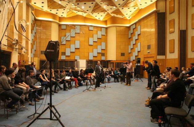 Az Időfutár egyik korábbi közönségtalálkozója