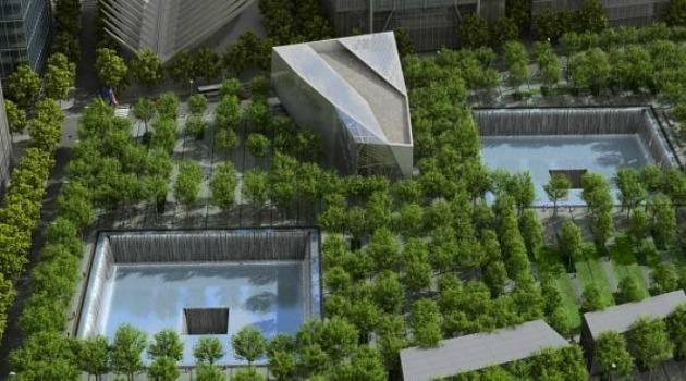 A múzeum tervezett felülnézete