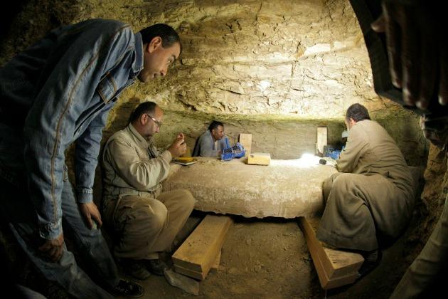 Fotó: EPA/Egyiptomi Régészeti Minisztérium