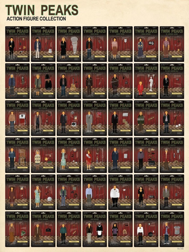 Max Dalton - Twin Peaks Action Figure Collection