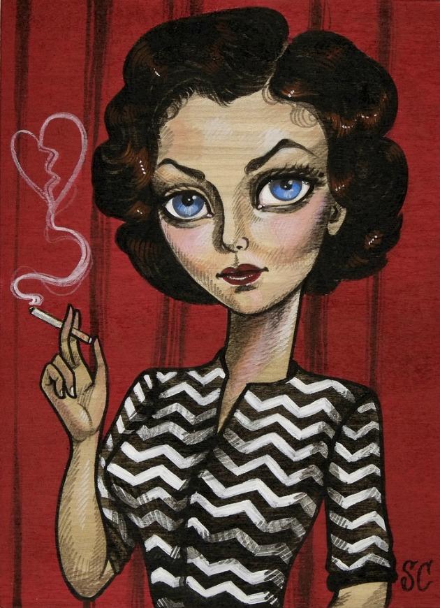 Sandi Calistro - Audrey Horne
