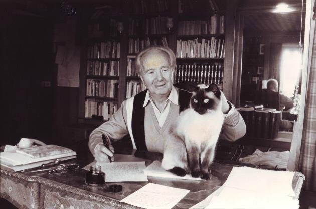 Robert Merle 1985-ben (Fotó: hu.wikipedia.org)