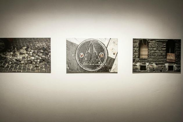 Czabán György fotói a kiállításon (Forrás: We Love Budapest)
