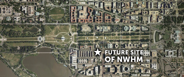 A női múzeum tervezett helyszíne Washington DC belvárosában (Fotó: nwhm.org)