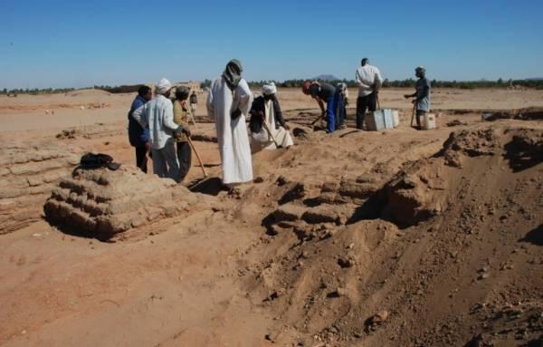 Szudáni régészeti feltárás (Fotó: enca.com)