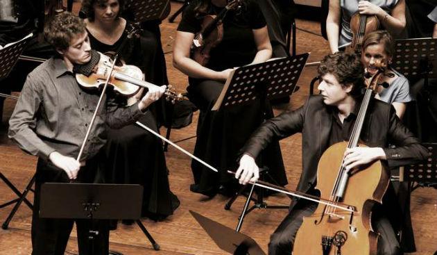 Baráti Kristóf és Várdai István (Fotó: Pannon Filharmonikusok)