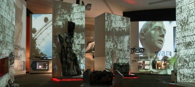 A kiállítási tér