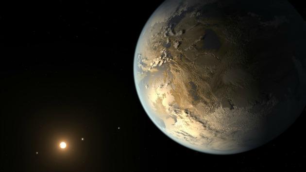 A Kepler 186f koncepciórajza (Fotó: NASA Ames/SETI Intézet /JPL-Caltech)