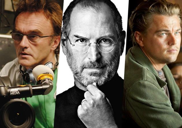 A főszerepben: Danny Boyle, Steve Jobs és Leonardo DiCaprio (Fotó: blogs.indiewire.com)
