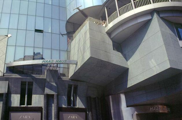 A Haas-Haus Bécsben (Fotó: photo.net)
