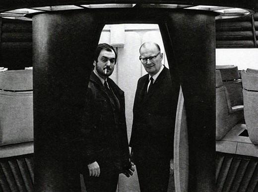 Kubrick és Arthur C. Clarke