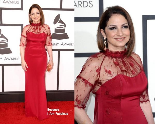 Gloria Estefan a Grammy-átadón