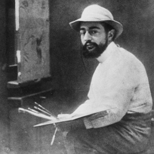 Toulouse-Lautrec 1889-ben (Forrás: Musée Toulouse-Lautrec, Albi)