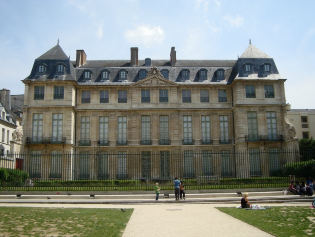 A Picasso Múzeumnak helyet biztosító Hotel Salé