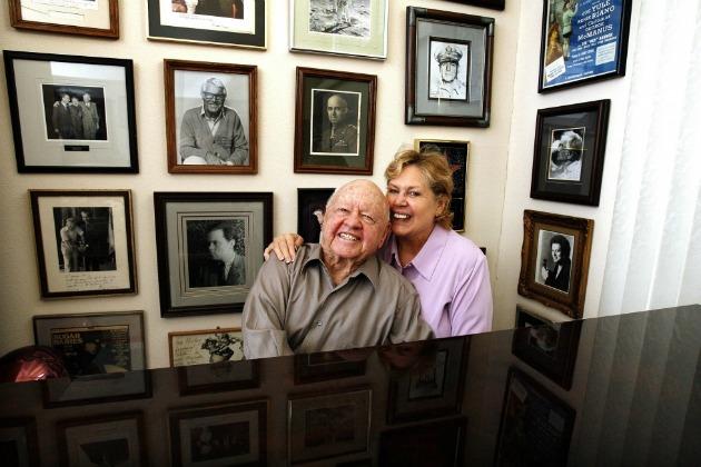 Mickey és Jan Rooney (Fotó: scmp.com/Reuters)